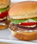 Marinated Tri-Tip Sliders with Gorgonzola and Fig