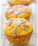 Pumpkin Cheddar Muffins from Baked Explorations