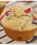 Cranberry-Orange with Coconut Muffins