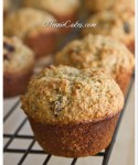 Healthy Honey-Raisin Bran Muffins with Walnuts