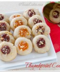 Thumbprint Cookies with Jam & Some News To Share!