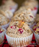 Fresh Cranberry Harvest Muffins with Figs