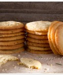 Pine Nut Cookies with Rosemary & Ginger