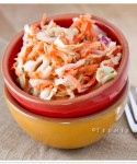 Marinated Salmon Sliders with Carrot Slaw