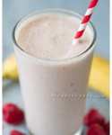 Healthy Treats: Banana - Razz Yogurt Smoothie