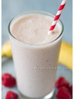 Healthy Treats: Banana – Razz Yogurt Smoothie