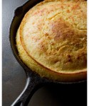 Cheesy Skillet Cornbread - Deliciousness!