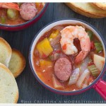 Cajun Stew with Shrimp and Kielbasa