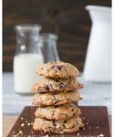 Banana-Walnut Chocolate-Chunk and Cranberries Cookies