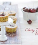 A Happy Farewell To Summer: Cherry-Pistachio Tea Cakes