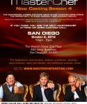 Casting Call for FOX's MasterChef - Coming to San Diego!