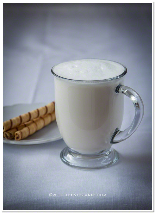 The Quintessential White Chocolate Mocha from Teenie Cakes - TeenieCakes.com