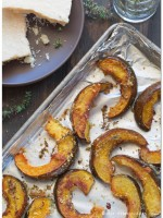 Parmesan-Thyme Roasted Acorn Squash