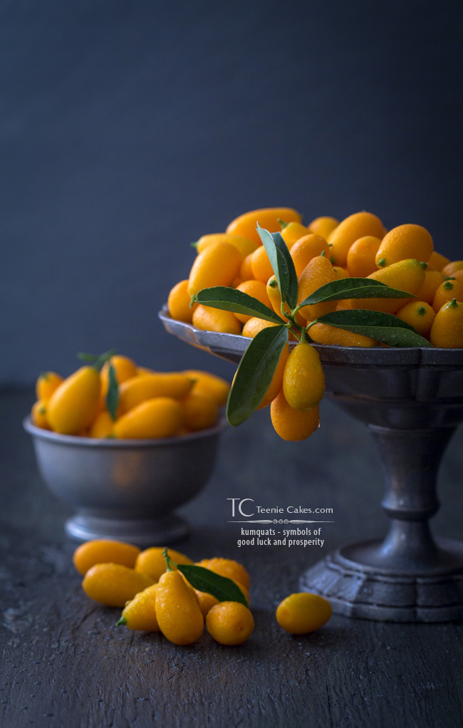 kumquats - symbols of good luck and prosperity