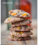 Tangy & Sweet Kumquat-Chocolate-Chunk & Walnut Oatmeal Cookies