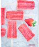 Paletas de fresa aka Strawberry Ice Pops