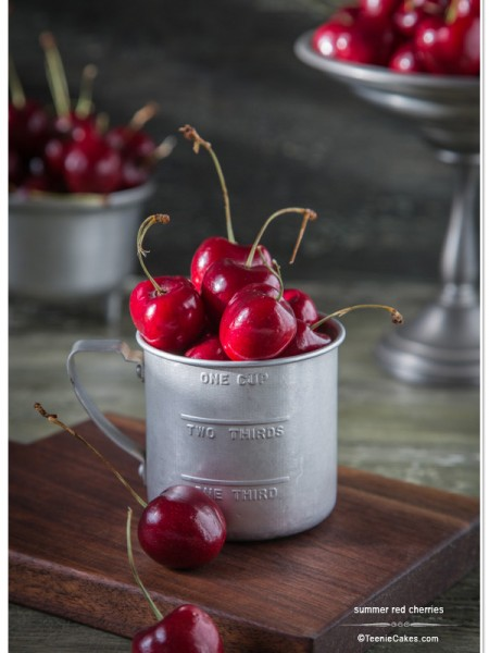 Summer Cherries - photography | TeenieCakes.com