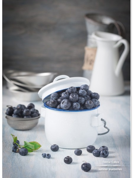 Summer Blueberries | Teenie Cakes