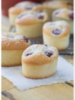 Raspberry Coconut Friands