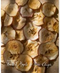Baked Apple Chips and Pear Chips