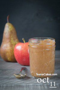 Pear and Apple Butter
