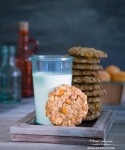 Apricots and White Chocolate, Walnut Oatmeal Cookies