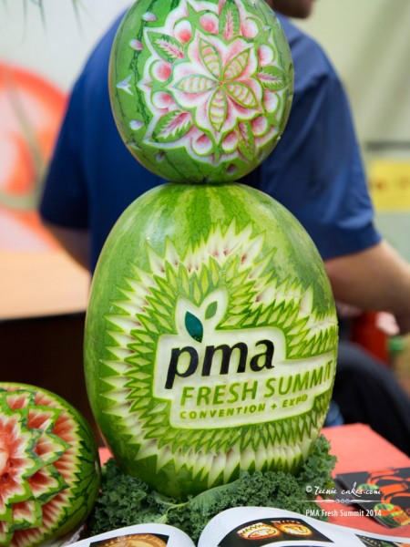 2014 PMA Fresh Summit - Watermelon Carving
