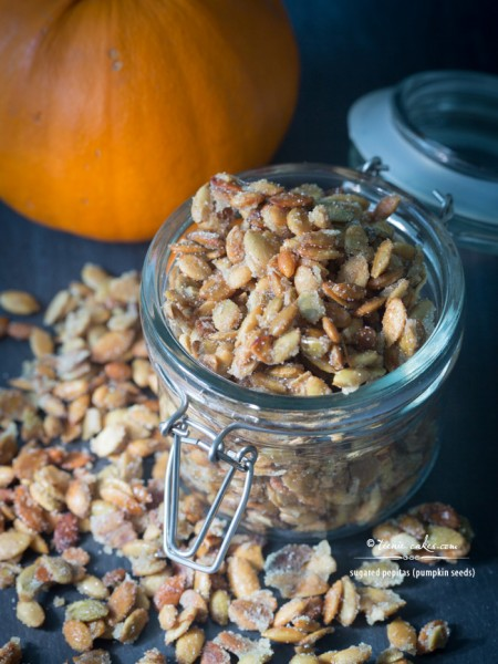 Sugared Pepitas (Sugared Pumpkin Seeds) recipe