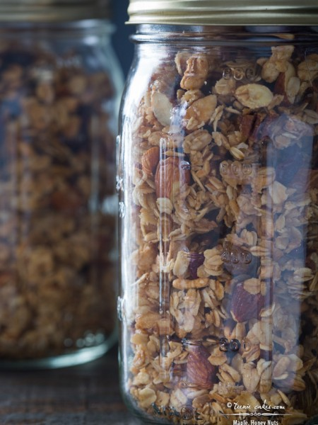 Maple, Honey Nuts & Fruit Granola recipe