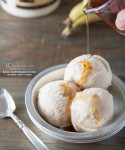 No churn, cream or sugar - Banana-Maple Cinnamon Ice Cream