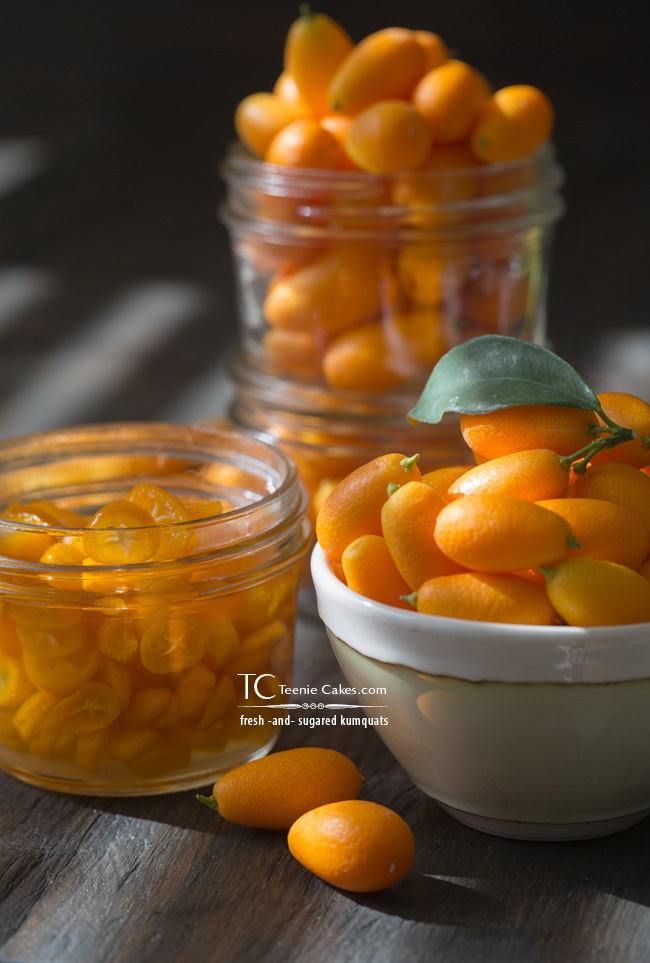 Fresh and Sugared Kumquats