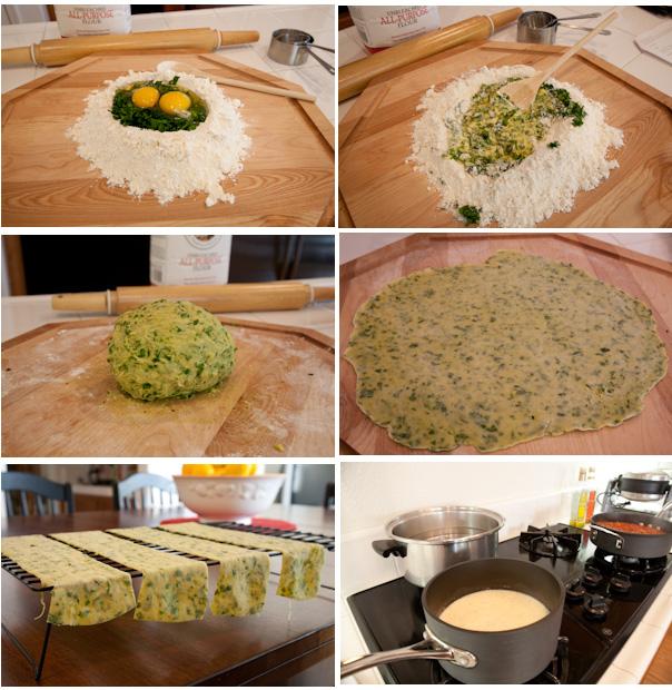 Lasagne of Emilia-Romagna - Prep