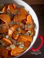 Honey-Roasted Root Vegetables – Sweet Potatoes, Carrots & Parsnips