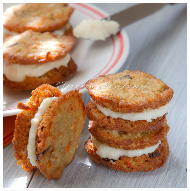 Carrot Cake Cookies with Oats & Macadamias