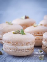 Macarons with Citronge Orange Liqueured Ganache