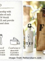 Pottery Barn's Feed Program & March 2011 Wrap-Up