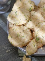 Lemon-Zucchini Cornmeal Cookies