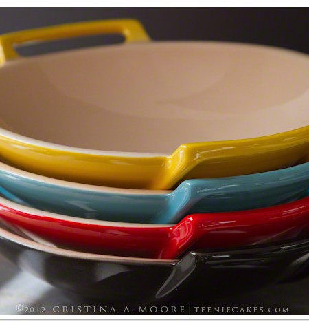 Le Crueset - Wok Dishes photography | TeenieCakes.com
