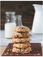 Banana-Walnut Chocolate-Chunk and Cranberries Cookies