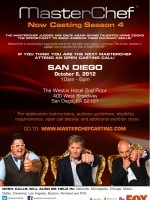 Casting Call for FOX's MasterChef – Coming to San Diego!