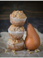 Flu Shots & Pear and Walnut Muffins