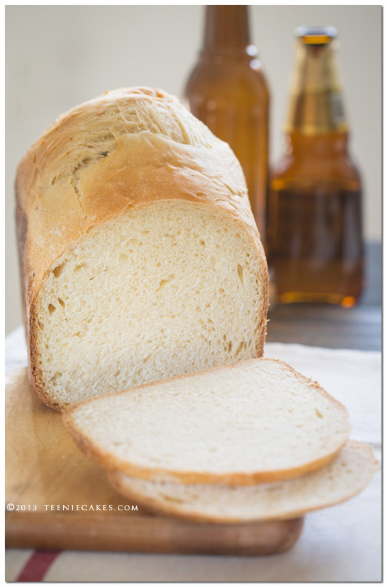 Cheddar Beer Bread cookbook review   TeenieCakes.com