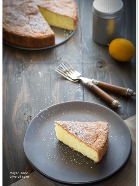 Meyer Lemon Olive Oil Cake recipe   TeenieCakes.com