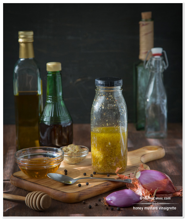 Honey Mustard Vinaigrette recipe | TeenieCakes.com