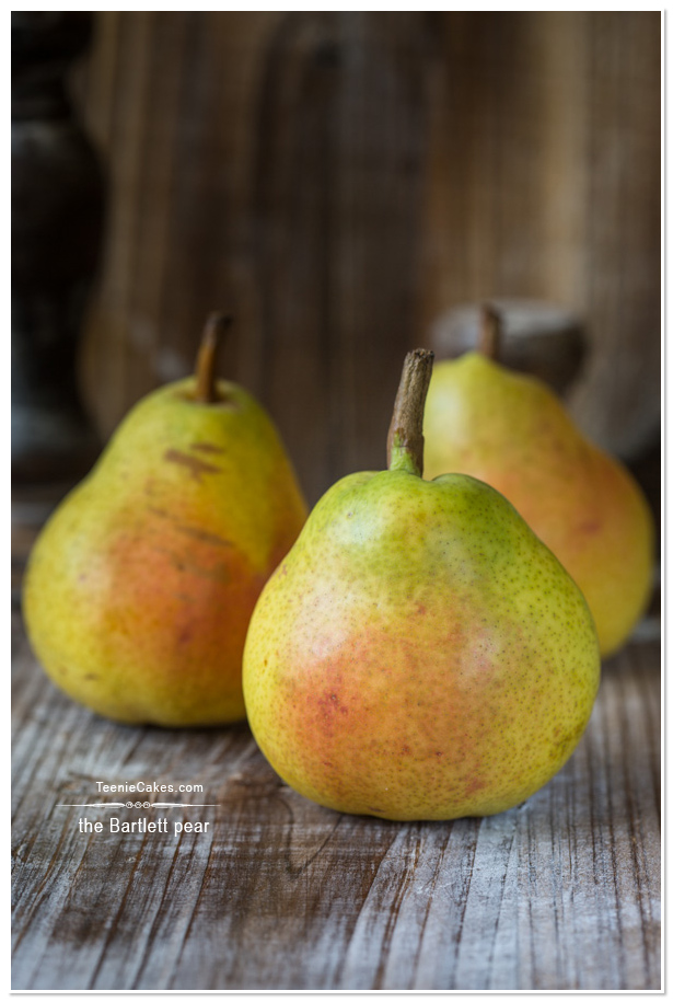 The Bartlett Pear for Pear and Apple Butter recipe | TeenieCakes.com