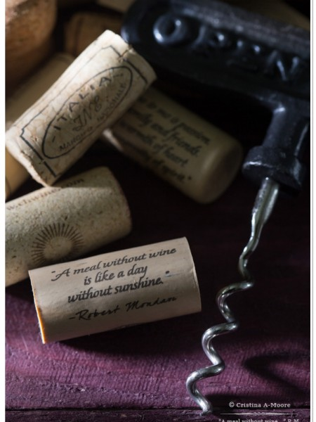 """""""A meal without wine..."""" quote by Robert Mondavi 