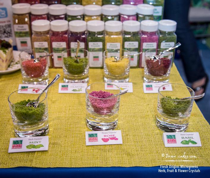 Fresh Origins Microgreens - Herb, Fruit & Flower Crystals