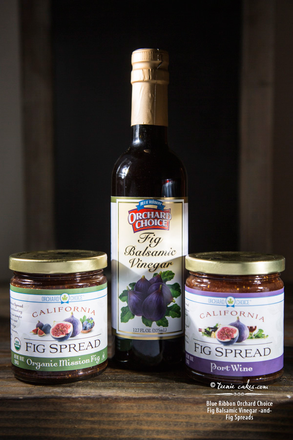 Blue Ribbon Orchard Choice Fig Balsamic Vinegar & Fig Spreads