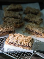 Fig and Chocolate Oatmeal Bars