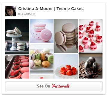 Follow Teenie Cakes Macaron board on Pinterest!